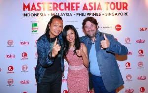 MasterChef Asia_Judges Susur Lee, Audra Morrice & Bruno Ménard at the Malaysian press launch recently (1)