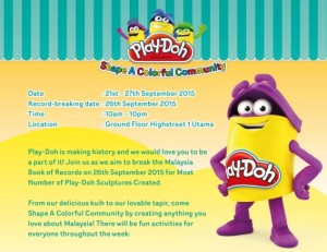 Play Doh Event