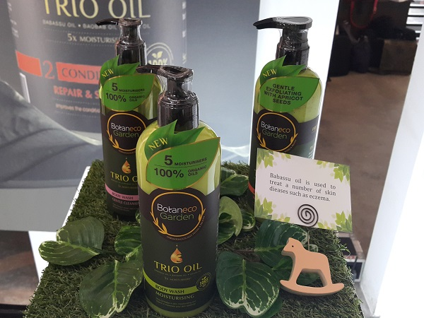 Body Wash Range Botaneco Garden Trio Oil