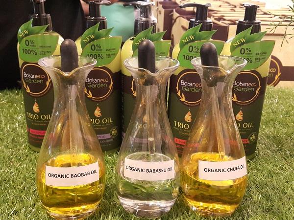 Formula Ingredients of Botaneco Garden Trio Oil