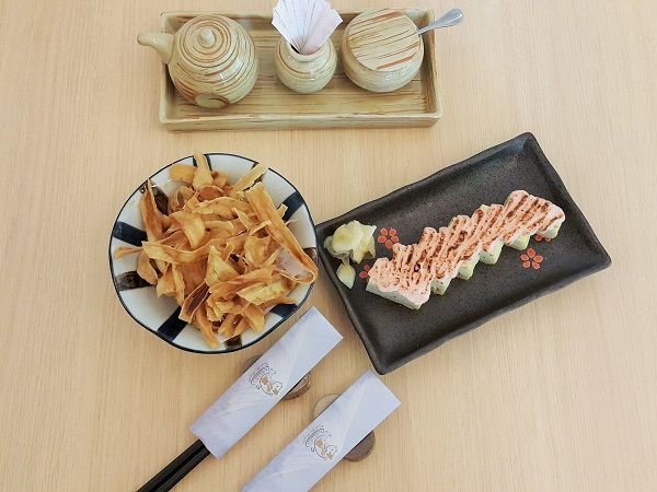 Gobou Fry & Tamago Mentai Yaki