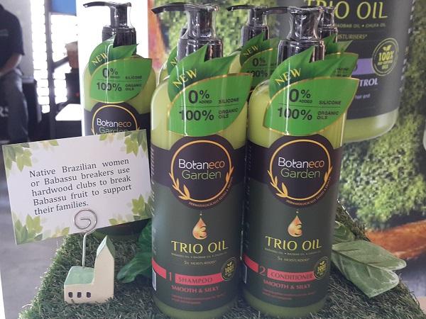 Haircare Range Botaneco Garden Trio Oil