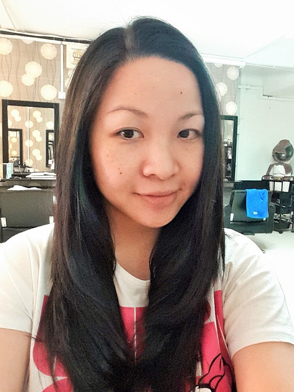 Me after treatment - Even Hair Salon