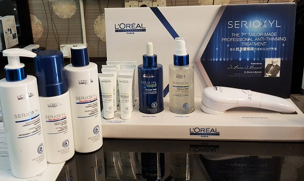 Serioxyl L'oreal Professional Anti-Thinning Treatment!