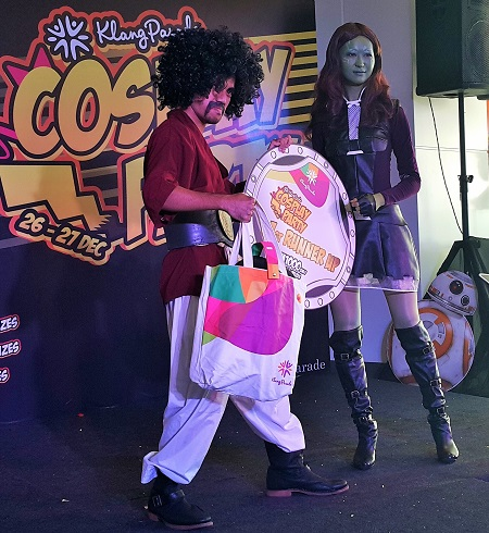 1st Runner Up - Cosplay KP