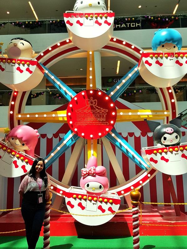 Ferris Wheel Hello Kitty - HKGA
