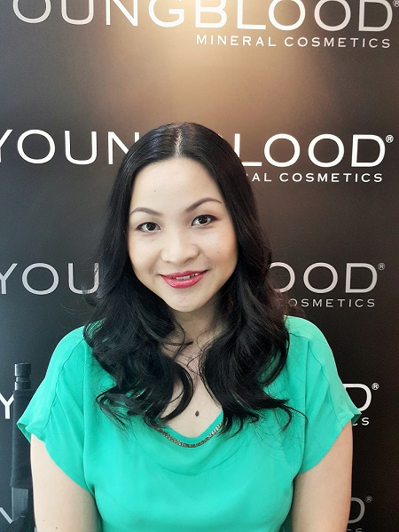 Makeup at 11.30am - Young Blood Mineral