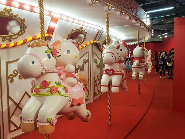 Hello Kitty Merry Go Round
