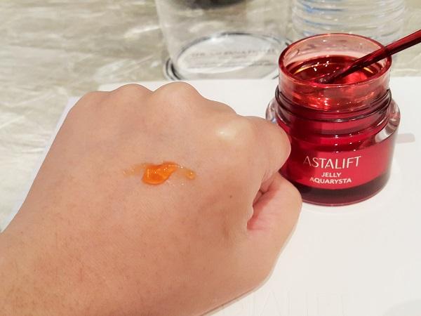 Testing Astalift Jelly Aquarysta