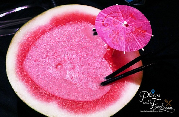 Watermelon slush with alcohol - Signature The Roof