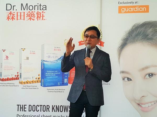 Dr.Jou Jun Xu, Ceo of Dr.Morita