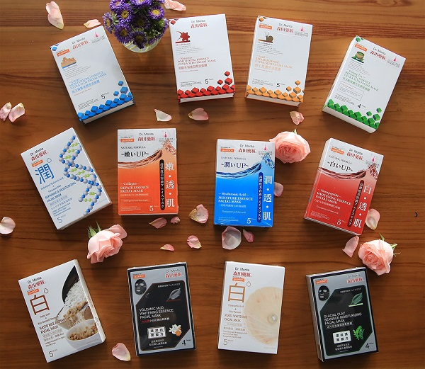 Dr.Morita's facial masks collection in Malaysia