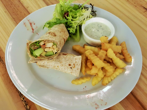 Grilled North Indian Chicken Breast Wrap - SC