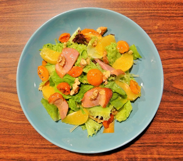 Smoked Duck Salad - Iggo Cafe