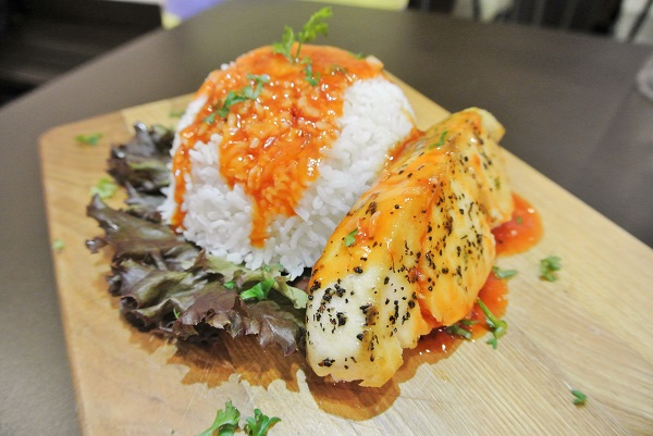 Butter Fish with Rice - Elenour