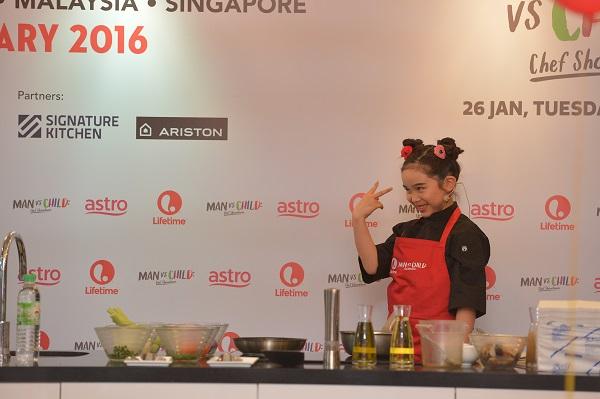 MAN VS CHILD - Press Launch_Chef Estie 'challenging' Chef Antoine from Le Meridien Kuala Lumpur (1)