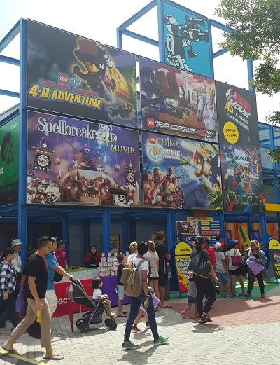 The LEGO® Movie™ 4D A New Adventure LEGOLAND
