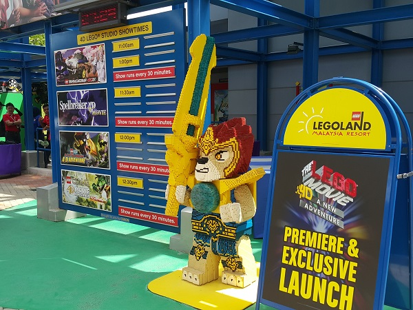 New Attraction at LEGOLAND Malaysia Resort - The LEGO® Movie™ 4D A ...