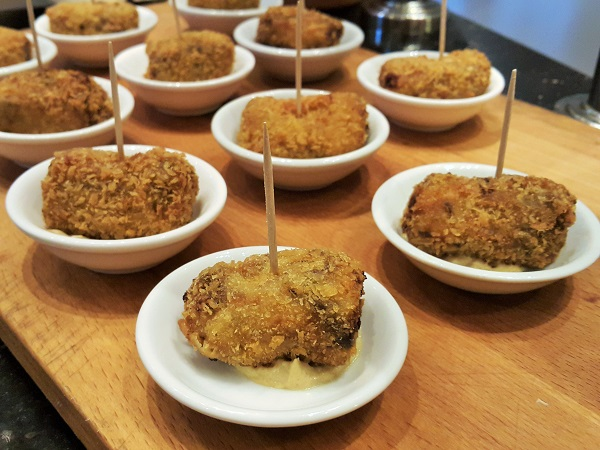 Beef croquettes with dijon mustard sauce. - Renaissance Hotel (2)