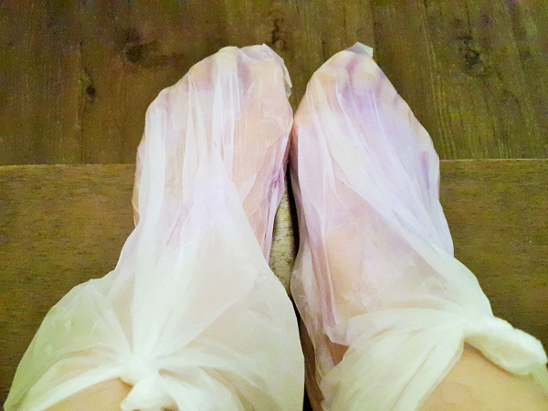 Foot Paraffin Wax Treatment - Herbaline. Sojourn Guest House