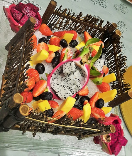 Fruit Platter on Ice - Sky Palace