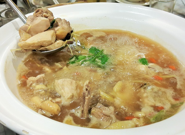 Ginger Wine Chicken Soup - Restaurant Wong Dynasty
