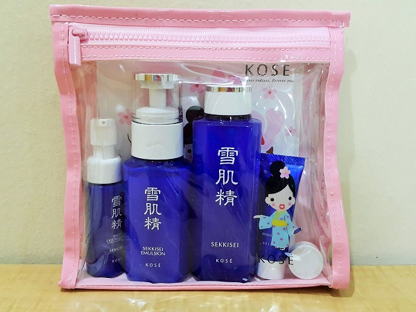 Kose Sekissei Trial Kit