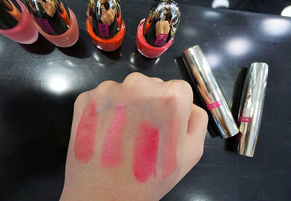 Lip color Swatches - Pupa Milano Dot Shock