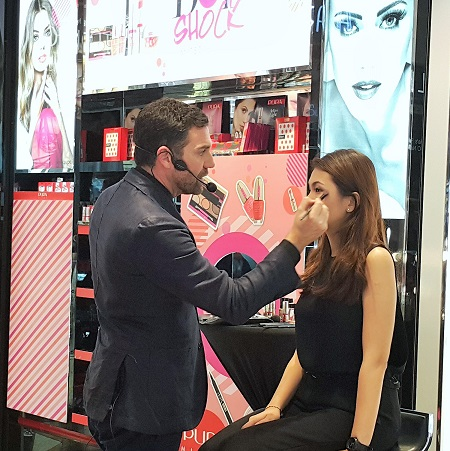 Makeup Demo by Giorgio Forgani, Pupa International Make Up Artist Pupa Milano Dot Shock