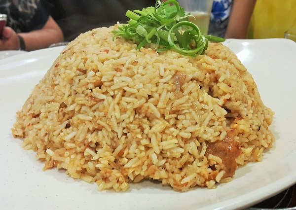Otak Otak Fried Rice