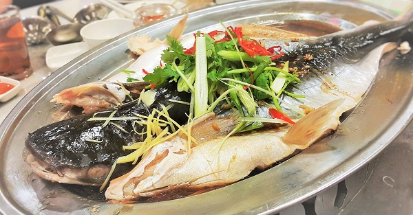 Patin Fish with Soy Sauce