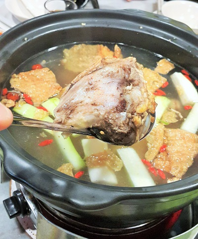 Pork Bones Soup Based - Restaurant Wong Dynasty