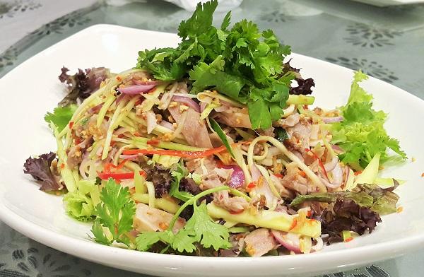 Pork Knuckle Mango Salad - Sky Palace