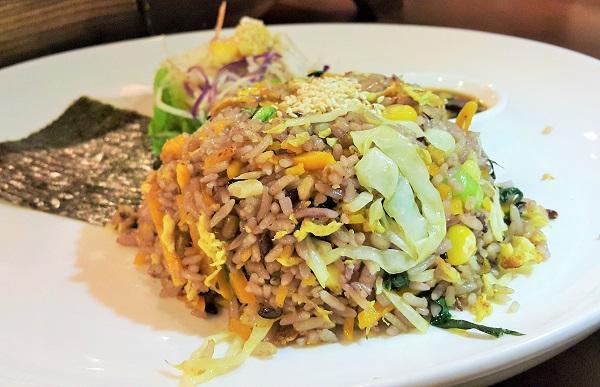 Pumpkin Fried Rice - Mama Kim