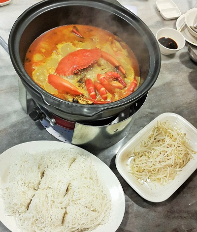 Snow Fairy Crab Hotpot (2) - Restaurant Wong Dynasty