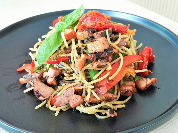 Aglio Olio Smoked Duck - New Chapter