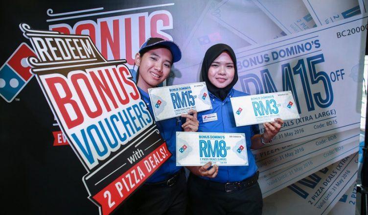 Domino's Bonus For All Vouchers