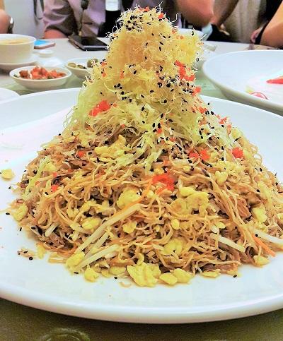 Egg Noodles with Sautéed Crab Meat, Egg and Bean Spouts - Zuan Yuan 1