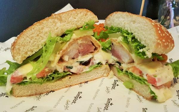U.S. Potato - Crispy Fish Burger - Card Cafe