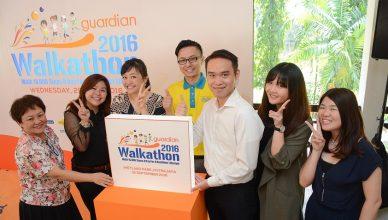 Guardian Walkathon 2016 Launch
