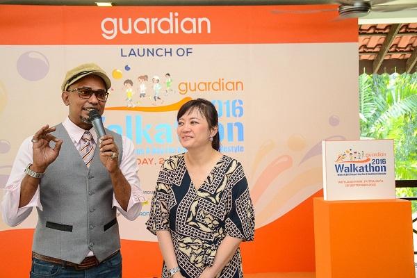 Guardian Walkathon 2016_Launch Event_Christina Low