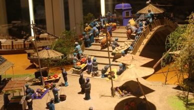 Qing Ming Shang He Tu (miniature dough figurines) display-MP