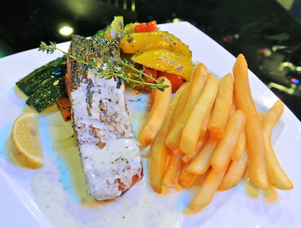 Grilled Salmon (RM 32)