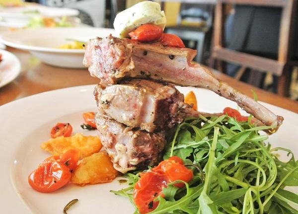 Carre di Agnello (Rack Of Lamb) – RM65