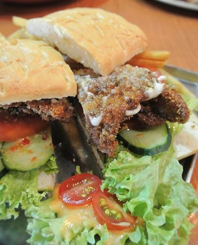 BBQ Pull Chicken Panini - RM15.90