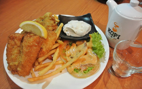 Fish & Chips – RM16.90