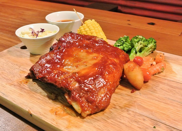 Oven-roasted Baby Back Pork Ribs, RM59