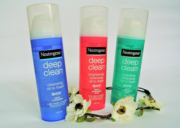 Neutrogena® Deep Clean Hydrating Cleansing Oil to Foam