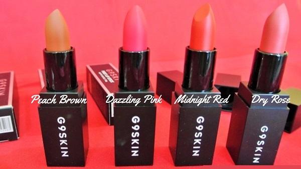 G9 Skin First Lipstick
