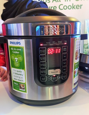 hilips All-In-One Pressure Cooker MP